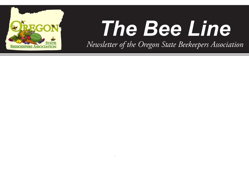 Masthead for newsletter, The Bee Line