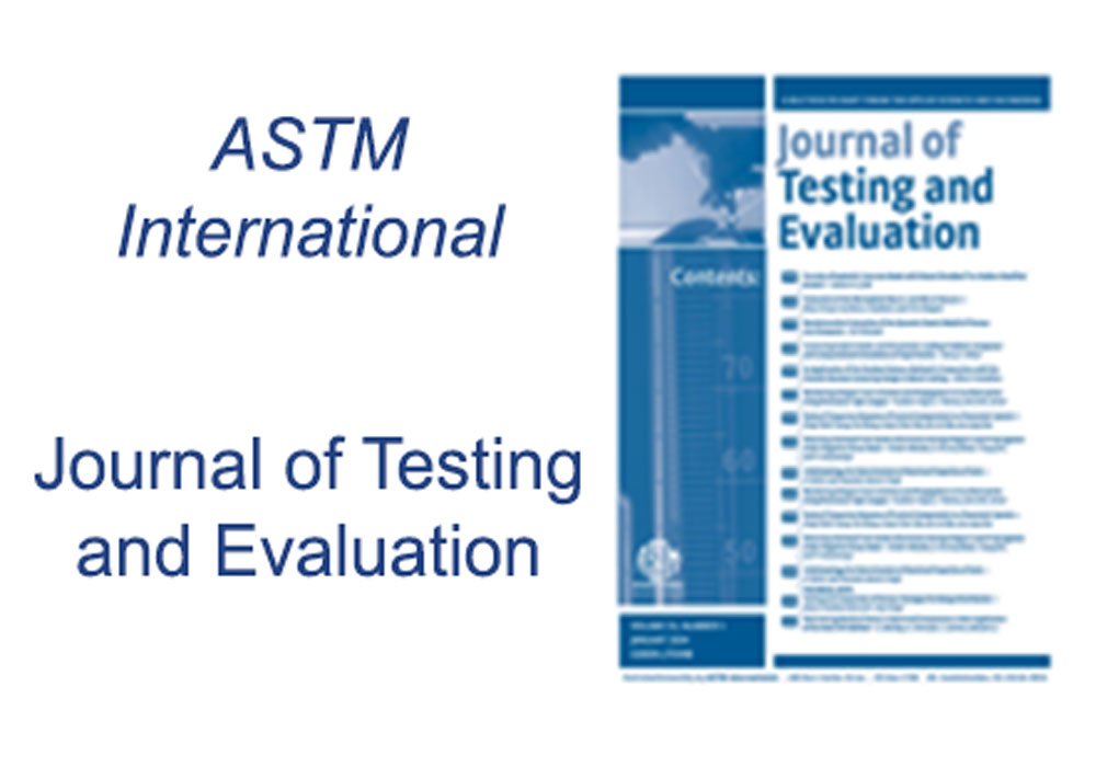 Journal of Testing and Evaluation Article Editing