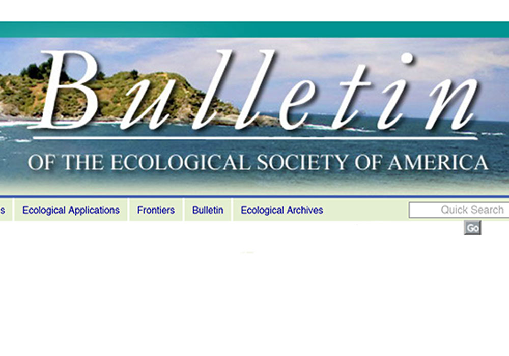 Bulletin of the Ecological Society of America Article Editing