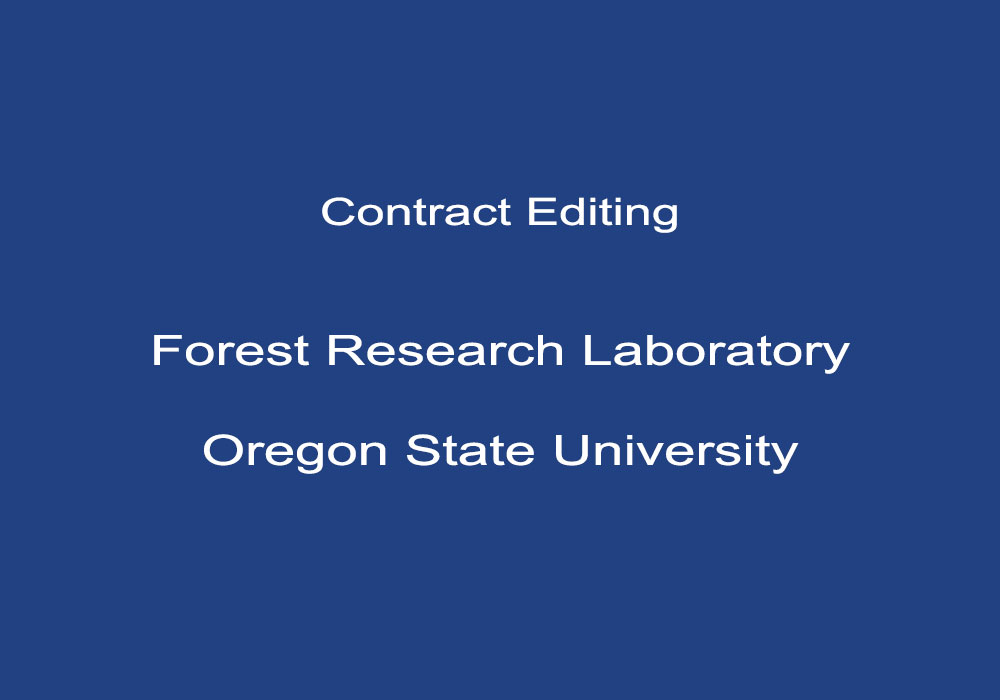 Forest Research Laboratory, Oregon State University