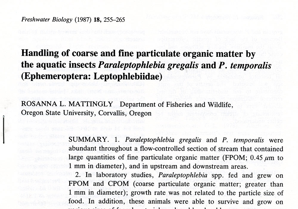 Coarse and Fine Particulate Matter Research