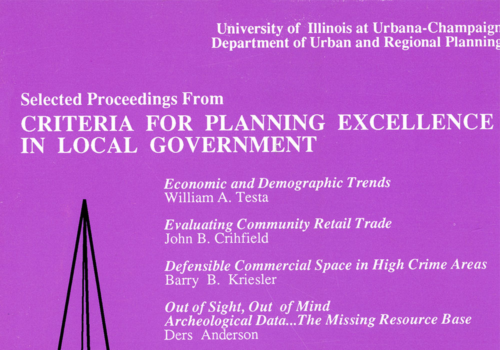 Institute on Planning and Zoning