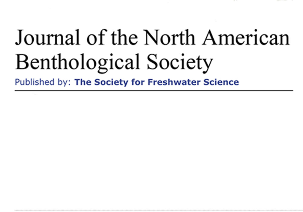 Journal of the North American Benthological Society Editing