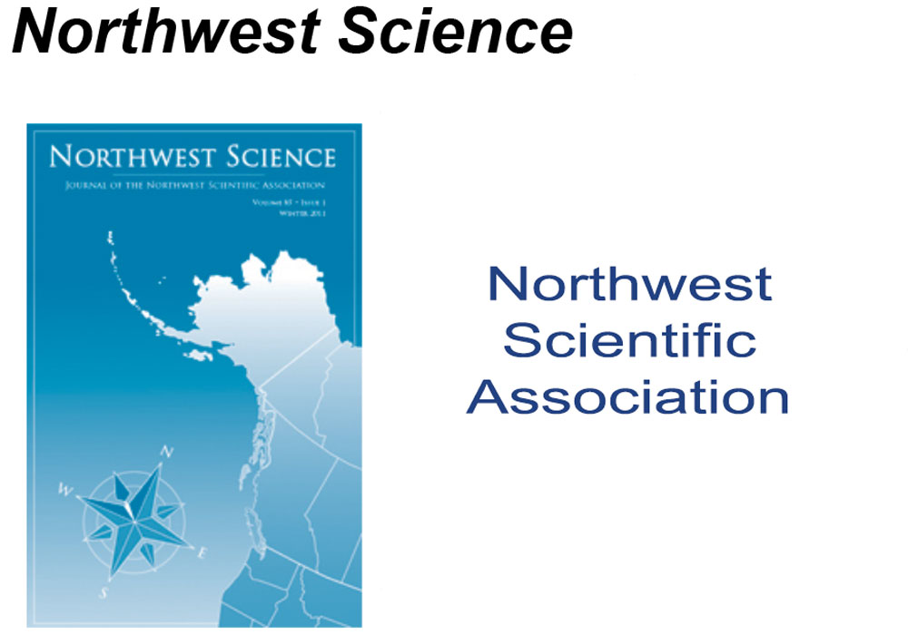 Northwest Science Article Editing