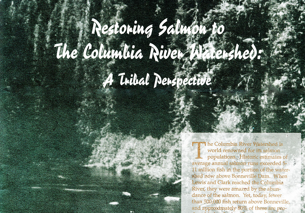 Plan for Columbia River Tribes