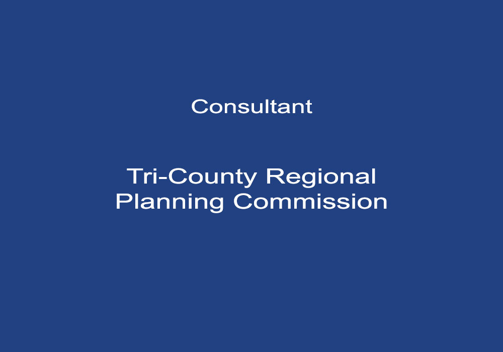 Consultant, Tri-County Regional Planning Commission