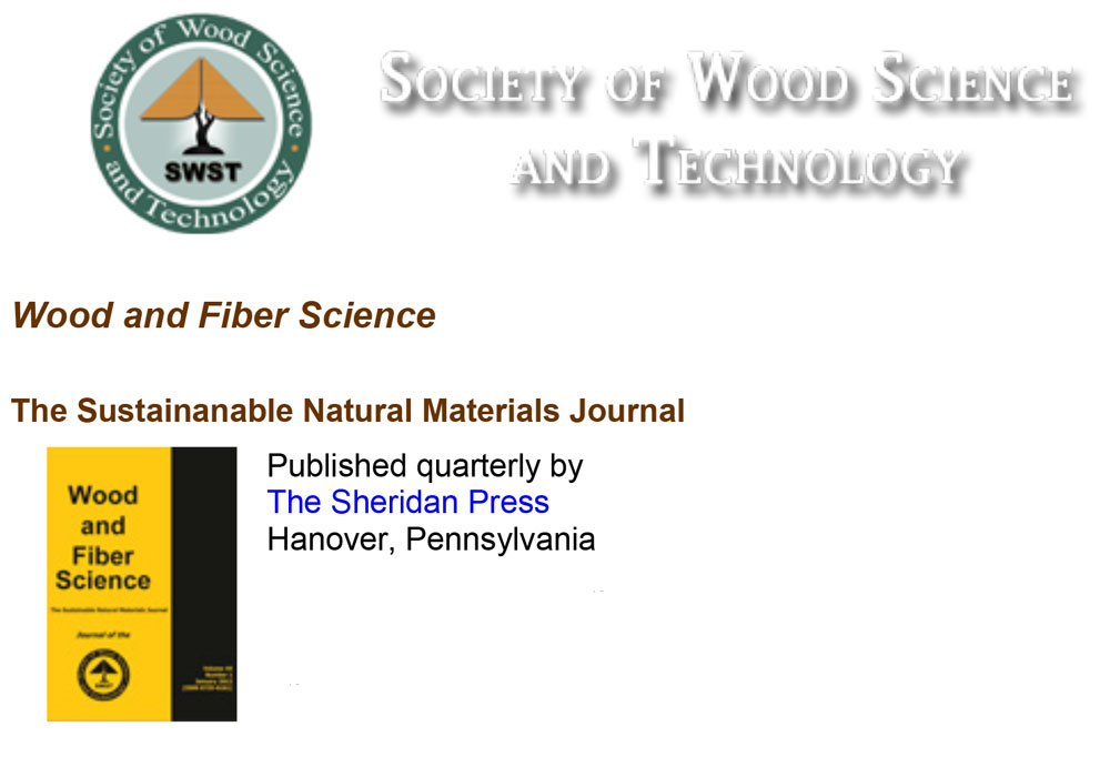 Wood and Fiber Science Editing